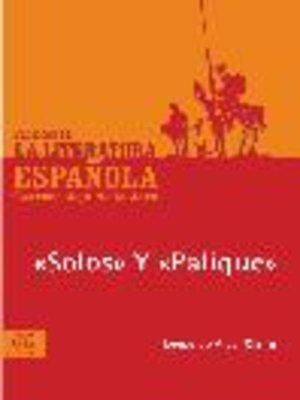 cover image of Solos y Palique