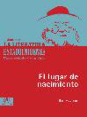 cover image of El lugar de nacimiento