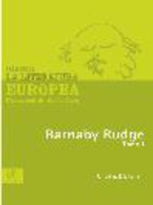 cover image of Barnaby Rudge, Tomo 1