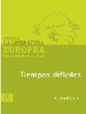 cover image of Tiempos difíciles