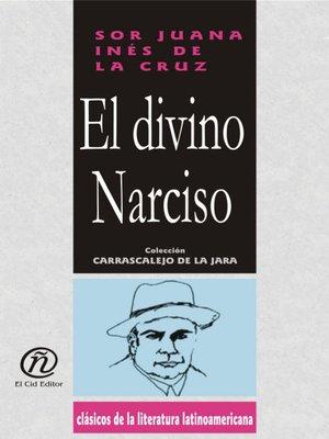 cover image of El divino Narciso