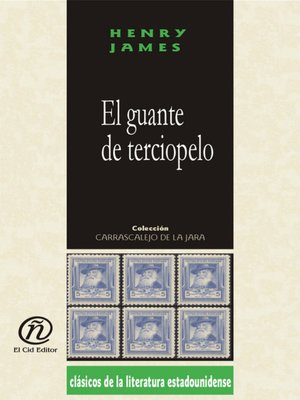 cover image of El guante de terciopelo
