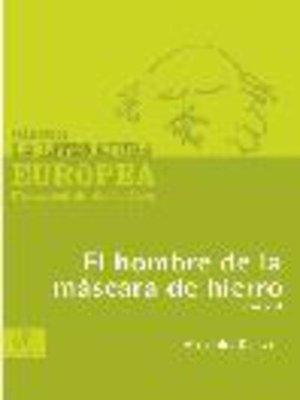 cover image of El hombre de la máscara de hierro, Tomo 2