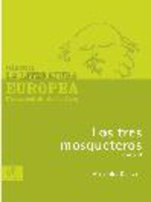 cover image of Los tres mosqueteros, Tomo 2