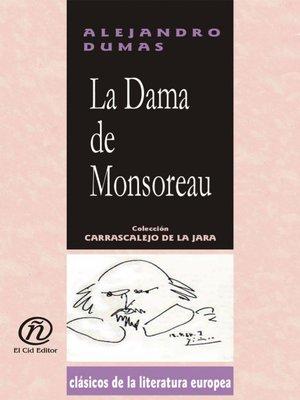 cover image of La dama de Monsoreau