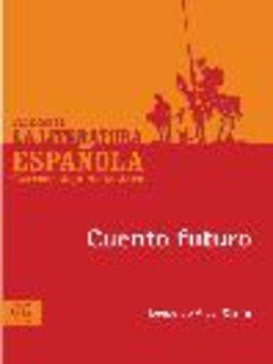 cover image of Cuento futuro