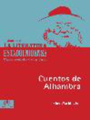 cover image of Cuentos de Alhambra