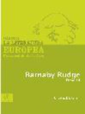 cover image of Barnaby Rudge, Tomo 3