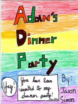 cover image of Adam's Dinner Party