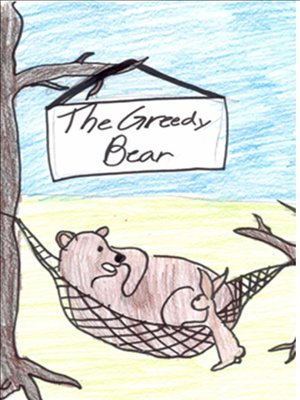 cover image of The Greedy Bear