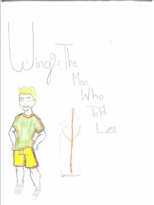 cover image of Wing: The Man Who Told Lies