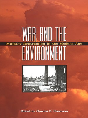 cover image of War and the Environment