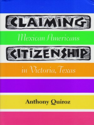 cover image of Claiming Citizenship