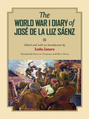 cover image of The World War I Diary of José de la Luz Sáenz