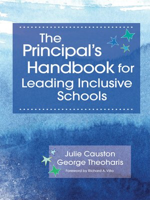 cover image of Principal's Handbook for Leading Inclusive Schools