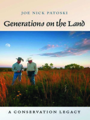 cover image of Generations on the Land