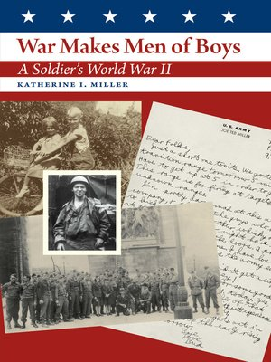cover image of War Makes Men of Boys