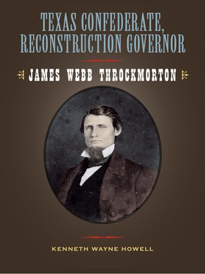 cover image of Texas Confederate, Reconstruction Governor