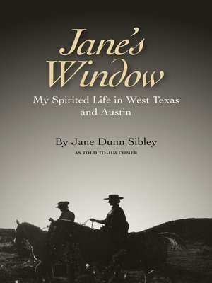 cover image of Jane's Window