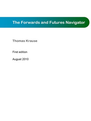 cover image of The Forwards and Futures Navigator