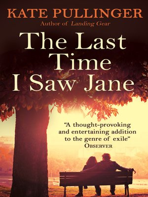 cover image of The Last Time I Saw Jane