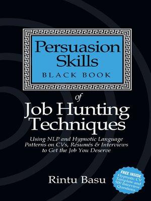 persuasion skills black book ebook