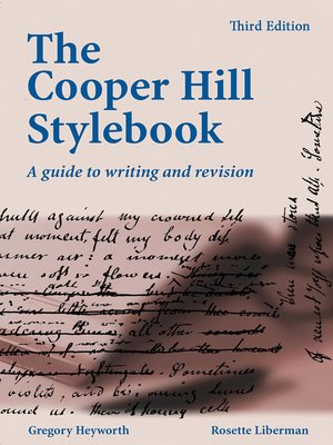 cover image of The Cooper Hill Stylebook