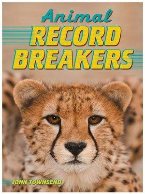 cover image of Animal Record Breakers