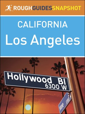 cover image of Rough Guides Snapshots USA - Los Angeles
