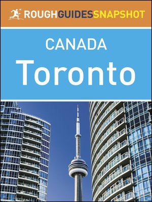 cover image of Canada - Toronto