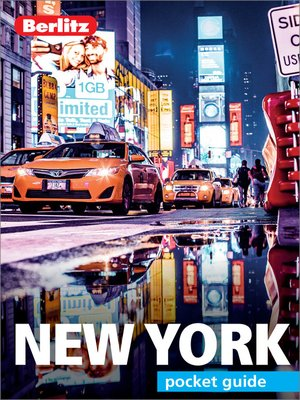 cover image of Berlitz Pocket Guide New York City (Travel Guide eBook)