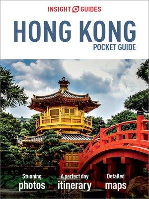 cover image of Insight Guides Pocket Hong Kong