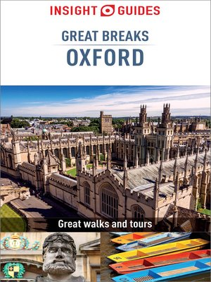 cover image of Insight Guides Great Breaks Oxford (Travel Guide eBook)