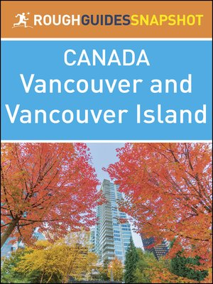 cover image of Canada - Vancouver and Vancouver Island