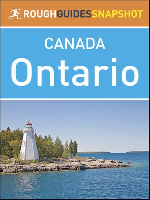 cover image of Canada - Ontario