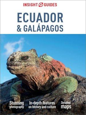 cover image of Insight Guides Ecuador & Galapagos