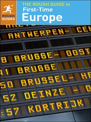 cover image of The Rough Guide to First-Time Europe