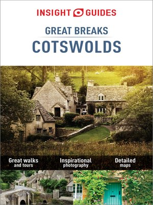 cover image of Insight Guides Great Breaks Cotswolds