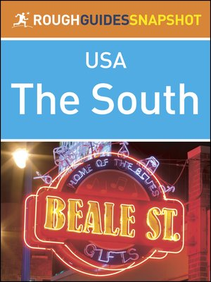 cover image of The South (Rough Guides Snapshot USA)
