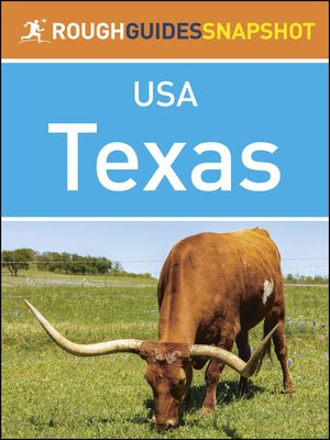 cover image of Rough Guides Snapshots USA: Texas