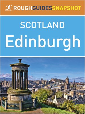 cover image of Rough Guides Snapshots Scotland: Edinburgh