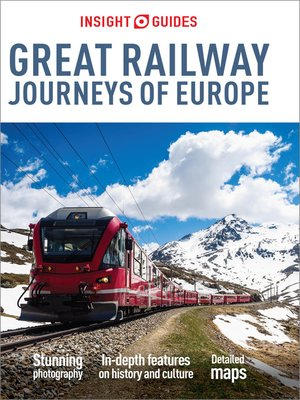 cover image of Insight Guides Great Railway Journeys of Europe (Travel Guide eBook)