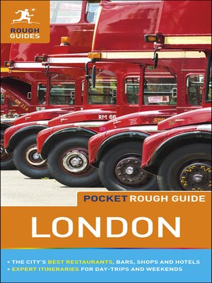 cover image of Pocket Rough Guide London