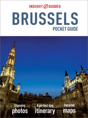 cover image of Insight Guides Pocket Brussels
