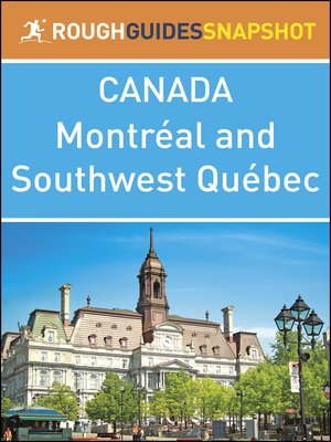 cover image of Canada - Montréal and Southwest Québec