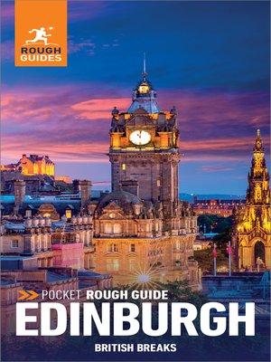 cover image of Pocket Rough Guide British Breaks Edinburgh