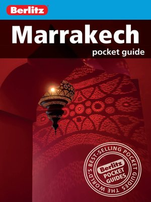 cover image of Berlitz: Marrakech Pocket Guide
