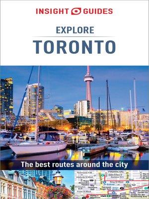 cover image of Insight Guides Explore Toronto (Travel Guide eBook)