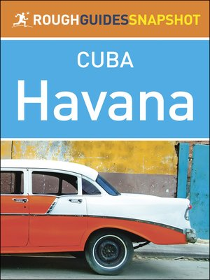 cover image of Havana (Rough Guides Snapshot Cuba)