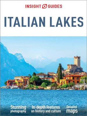 cover image of Insight Guides Italian Lakes (Travel Guide eBook)